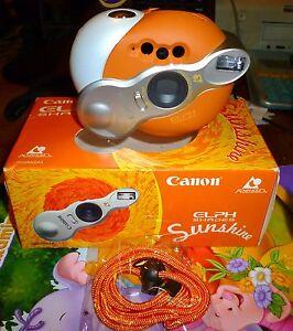 Canon Elph Shades Sunshine APS Film Camera