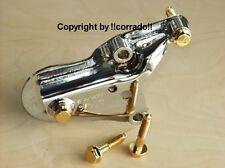 verchromt+vergoldet  Motorhalter oben Polo 6N+Lupo 1,0L bis 1,6L Bi-Color chrom