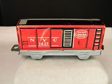 Tin New York City 1421 Train Car with Rubber Tires  (1943)