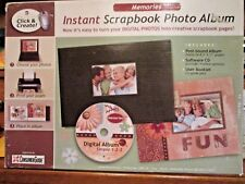 Digital Scrapbook Software Photo Album With CD Make Photos into Pages Instantly