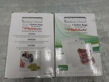 New listing 48 - New Waring Pro Pistol Vacuum Sealer Bags 1 Gallon 24 Pack Pvs1000Cgb 2 boxe