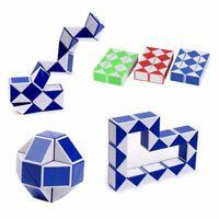 Snake Puzzle Rubik Cube Twist Magic Toy Ruler Brain Speed Rubiks Vintage Game