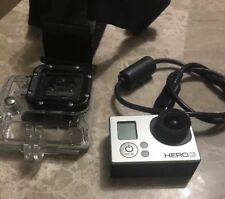 GoPro HERO3 Model CHDHE-301  16 MB Camcorder White (Silver Edition)