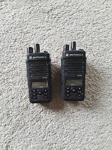 2 Motorola XPR 3500 Digital poratable radios  403 to 512 MHz