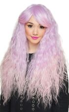 Rockstar Wigs Harmony Long Wavy Lavender/Pink Wig Wild Boho Style Lavender Pink