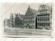 Foto, Wehrmacht, Strassenszene in Gent, Belgien, c 1269