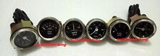 Smiths-52mm-Kit-Temp-Oil-Fuel-Oil Temp Gauge Volt +Amp Gauges --Replica