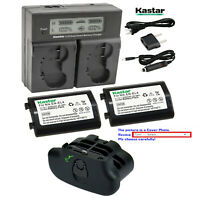Kastar EN-EL4 EL4a Battery, Charger, Chamber for Nikon D300, Nikon D300S Camera