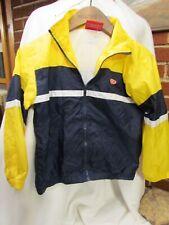 Vintage Boys Rawlings Full Zip Jacket Blue & Yellow Size 8