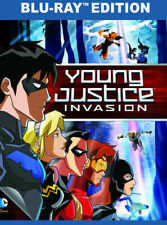 Young Justice Invasion Blu-ray Dolby Digital Theater System