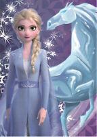 Disney Frozen 2 la Reine de Glace Couverture Polaire 140 X 100 cm Neuf