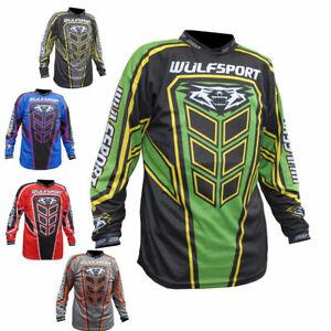 2019  Wulfsport Adult AXIUM Motocross Shirt, Enduro Race Jersey, MX, Quad,