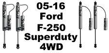 Fox 2.0 Perform Reservoir Front + Rear Shocks For 05-16 F-250 Superduty  4WD