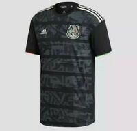 Adidas Men's Authentic Mexico 2019 - 2020 Home Jersey Black S/S Size US M New