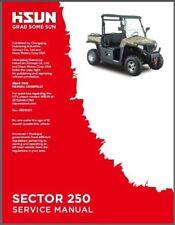 Hisun Sector 250 Service, Owners, Parts CD Coleman Bennche Cowboy Massimo Gunner
