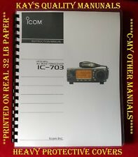 Highest Quality Icom IC-703 Instruction Manual w32 Lb 😊😊C-MY OTHER MANUALS😊😊