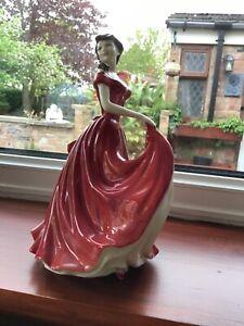 ROYAL DOULTON LADY DOLL SCARLETT MODEL No. HN 4408 CLASSICS PERFECT RED DRESS