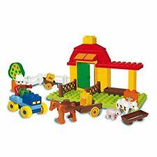 Bauklötze Unico Farm Bausteine Spielzeug Kinder Motorik Geschenk 46 Stk  B-WARE