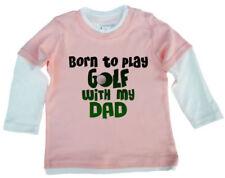 Magliette e maglie rosa con maniche lunghe per bambino da 0 a 24 mesi