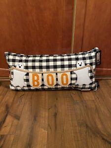 Cynthia rowley curious boo ghost 12x24 pillow