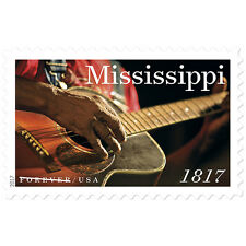 2017 49c Mississippi Statehood, Guitar, 200th Anniversary Scott 5190 Mint VF NH