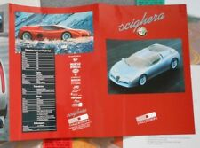 Italdesign Alfa Romeo Scighera 7 x Negative Photo Press Pack Kit Brochure x 6