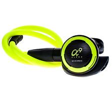 "Oceanic ALPHA 9 OCTOPUS 9 w/ 36"" Neon Yellow MaxFlex Hose - NEW - Free Shipping"