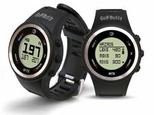 GOLF BUDDY WT6 GOLF GPS WATCH RANGE FINDER BLACK - NEW 2017