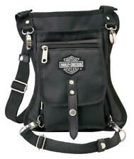 Harley-Davidson Side Slinger 2-IN-1 Shoulder Bag / Leg Holster - Black 98223