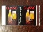 Vintage Box Matchcover: Christian Schmidt Classic Premium Beer   BX