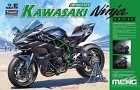 "Meng Model MT-001s 1/9 川崎 Kawasaki Ninja ""H2"" R Pre-Colored Edition"