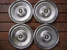 "1971 1973 BUICK LESABRE ESTATE WAGON 15"" HUBCAP HUB CAP WHEEL COVER, SET OF FOUR"