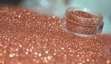Bizzy Nails Cosmetic Grade Glitter Nail Art Subtle Pink Acrylic GEL