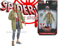 "Marvel Legends 6"" Into the Spider-Verse PETER B. PARKER Stilt Man BAF"