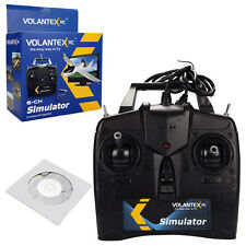 Volantex 6CH Flight Simulator Fly Game For RC Airplane Helicopter w/USB & Disk