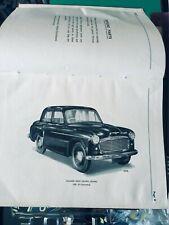 Spazzola Per Hillman Minx e Californiani OH VALVOLA 1956-66 Sostituisce Lucas 400051