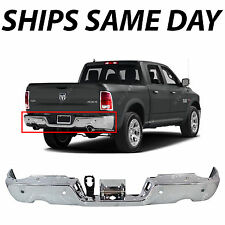NEW Chrome Rear Step Bumper Steel Face Bar for 2009-2016 Dodge RAM 1500 W/ Park