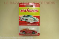 MAJORETTE FRANCE. CHEVROLET CORVETTE (rouge) + blister.  REF: 268.