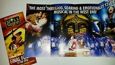 NEW MISS SAIGON FINAL MUSICAL LEAFLET FLYER PUT WITH TICKETS FOR A GREAT GIFT