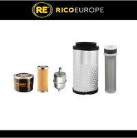 Kubota K008-3 Mini Digger / Excavator Filter Service Kit Air, Oil, Fuel Filters