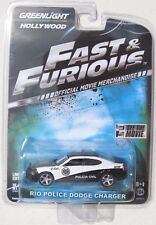 HOLLYWOOD SERIES 2 MOVIE CAR FAST & THE & FURIOUS 2010 RIO POLICE DODGE CHARGER