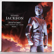 BOOK  HISTORY past,present and future de Michael JACKSON, 52 pages,  30 X 30 cm