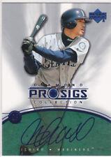 ICHIRO Seattle Mariners AUTO PRO SIGS Baseball Card Suzuki Upper Deck FUTURE HOF