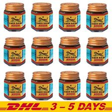 Pack 12: 30g Red Tiger balm Pain Relief Ointment Muscular Aches Pain Thai Herbal