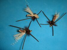 New ListingFly Fishing Flies - Brown Posted Stonefly (Terrestrial) size #12 (6 pcs.)