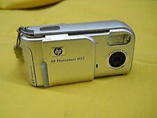 HP PhotoSmart M22 4.0MP Digital Camera - Silver Point and Shoot