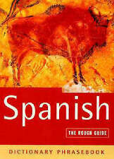 NEW ~ The Rough Travel Guide to Spanish (A Dictionary Phrasebook) by Lexus Spain