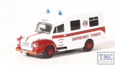 76BED007 Oxford Diecast OO Bedford J1 Ambulance Dundalk Fire Service
