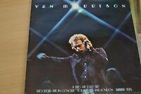 VAN MORRISON   ITS TOO LATE TO STOP NOW   DOUBLE   LP  1974 WARNER BROS  K 86007