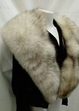 collo stola scialle superb fox fur stole, lined internally, a real occasion